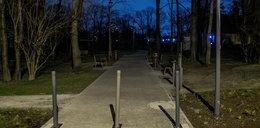 Ogród nad Sudołem tonie w ciemnościach. W parku nie ma prądu!