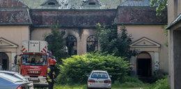 Tragedia w kaplicy w Łodzi. W pożarze zginął mężczyzna