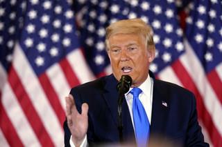 Donald samozwaniec. Ogłosił, że zwyciężył w wyborach, zanim głosy zostały policzone