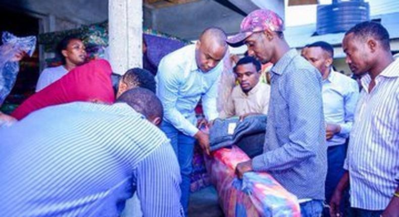 MP Jaguar donates mattresses to Industrial Area Prison