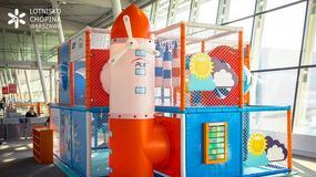 Na Lotnisku Chopina otwarto trzy place zabaw dla dzieci