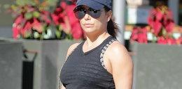 Tak wygląda Eva Longoria w czwartym miesiącu ciąży