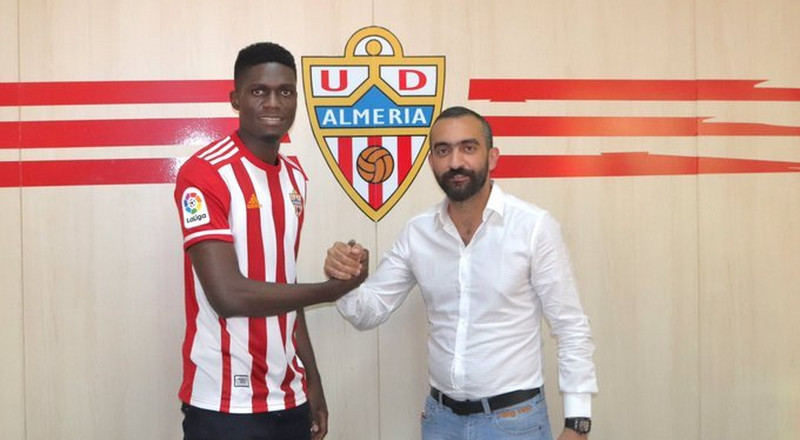Nigerian defender Valentine Ozornwafor joins Spanish club UD Almeria on a loan deal from Galatasaray