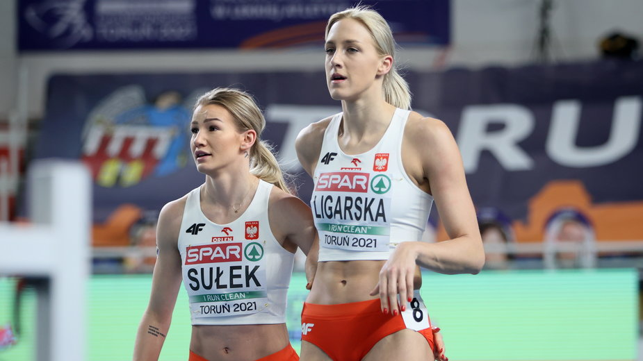 Paulina Ligarska i Adrianna Sułek