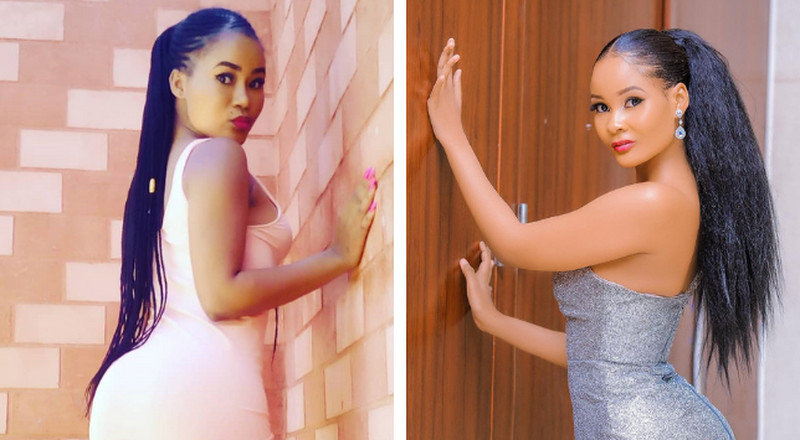Meet Hamisa Mobetto's Kenyan lookalike who has been causing confusion on the interwebs (Photos)