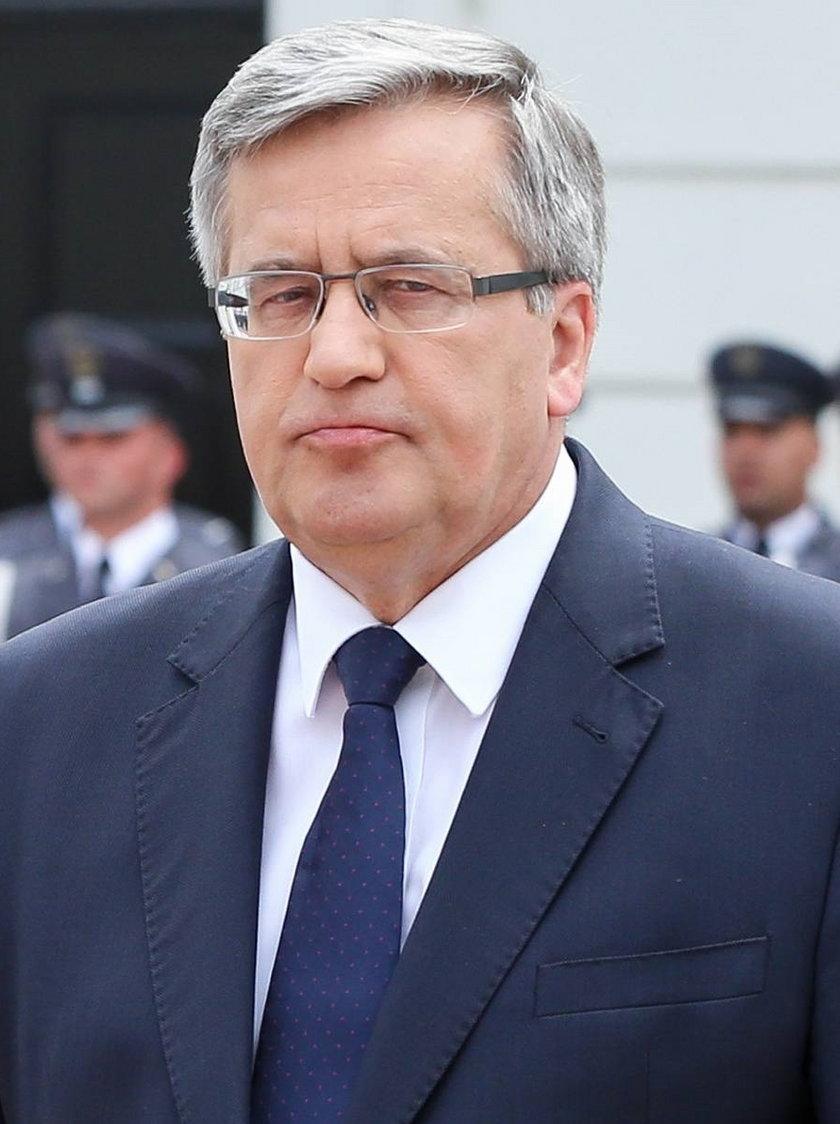 Były prezydent Polski Bronisław Komorowski
