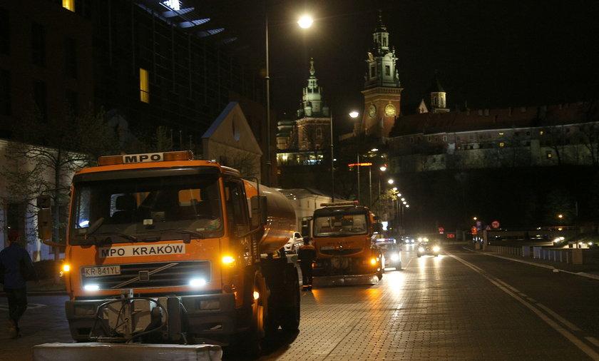 czyszczenie ulic krakowa