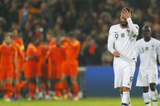 Fudbalska reprezentacija Holandije, Fudbalska reprezentacija Francuske