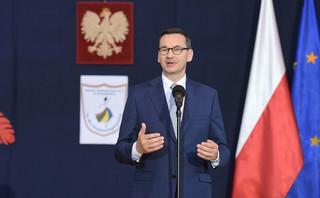 Premier Morawiecki: Wyprawka 300 plus i świadczenie 500 plus to najlepsza inwestycja w przyszłość Polski