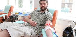 Oddaj krew na Małym Rynku