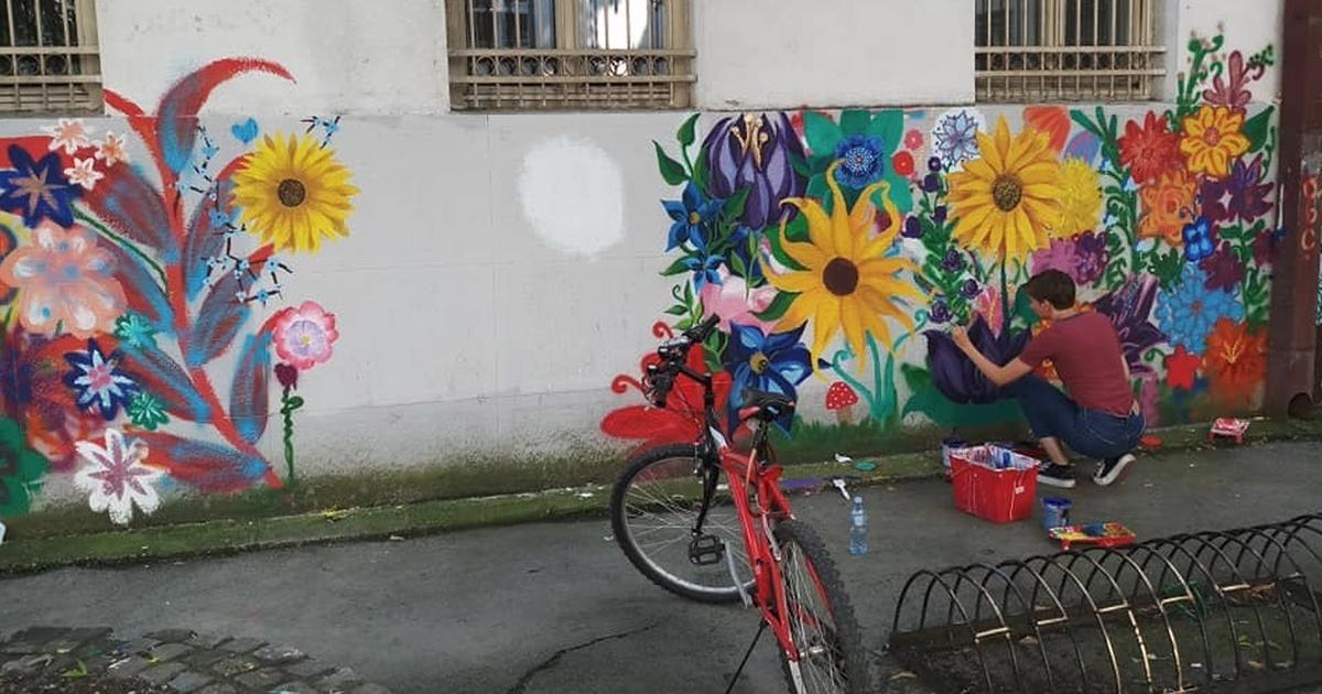 Kako su prekrečeni murali u kruševačkoj Gimnaziji pokazali pravi problem današnje dece 228 Podeljeno 228