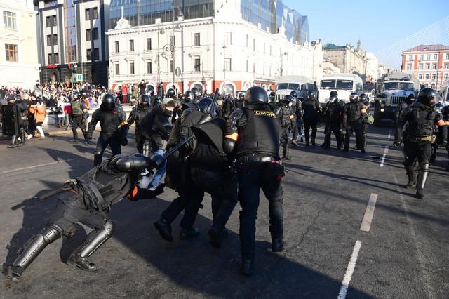 Protesti u Vladivostoku 23. januara