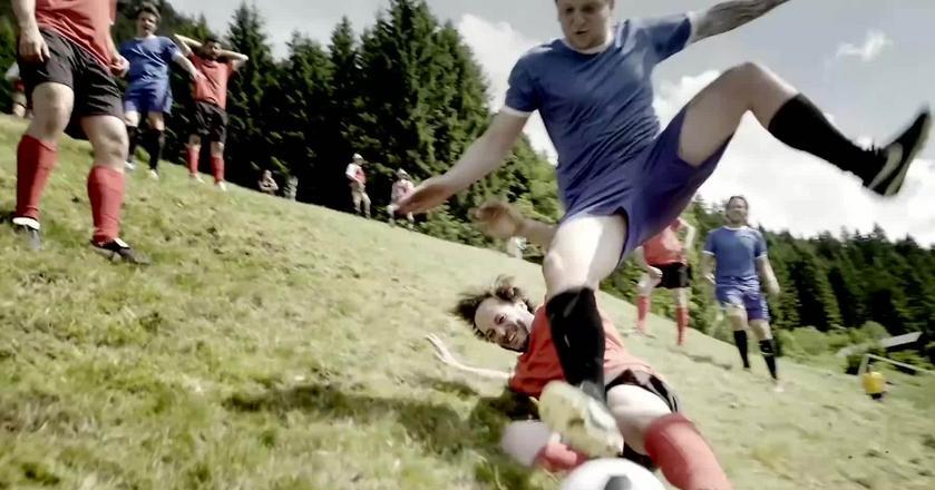 Alpejski football - nowy pomysł na piłkę nożną