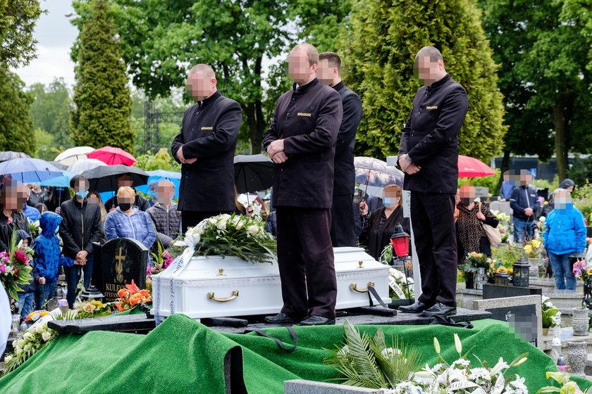 Pogrzeb zamordowanego Sebastianka († 11 l.)