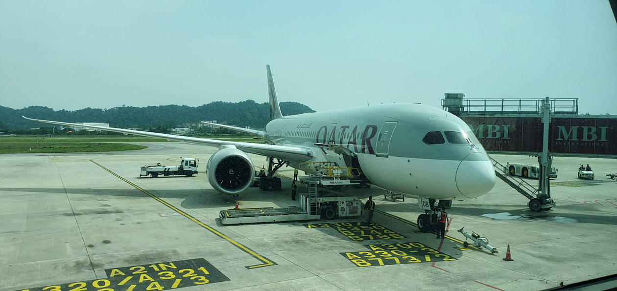 Qatar Airways, Penang i Langkawi