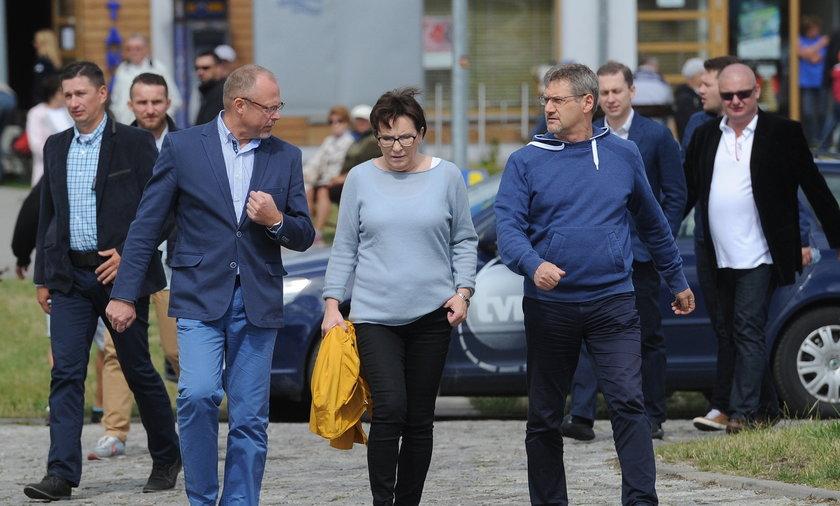 Ewa Kopacz na Warmii i Mazurach