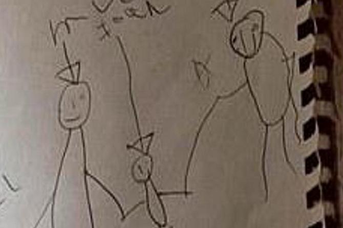 Zbog svog sina (8) su svakog dana bili KRVAVI I U MODRICAMA: A onda je ovaj njegov crtež otkrio ŠTA NIJE U REDU i - ZGRANULI su se