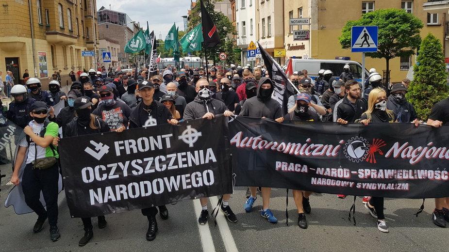 """Marsz """"Katowice Miastem Nacjonalizmu"""""""