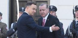 Warszawa: Ochrona Erdogana zaatakowała demonstrantów?