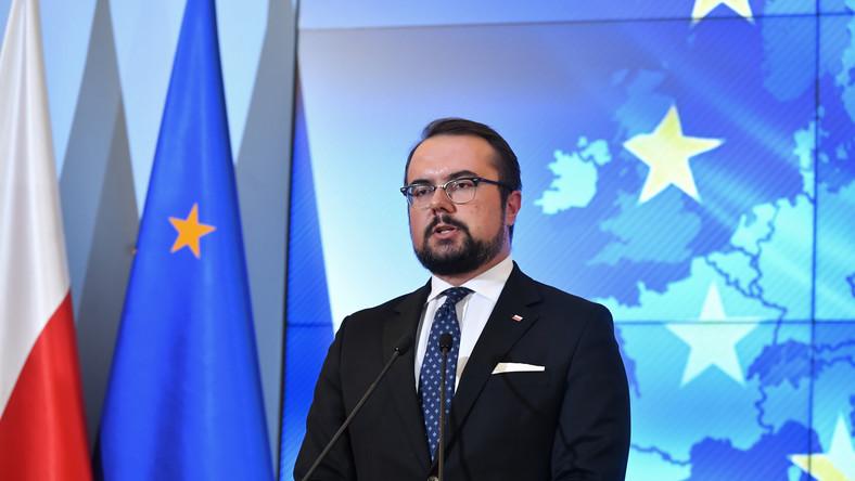 Wiceminister spraw zagranicznych Paweł Jabłoński