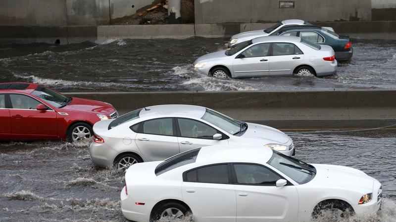 Część Los Angeles znajduje się pod wodą