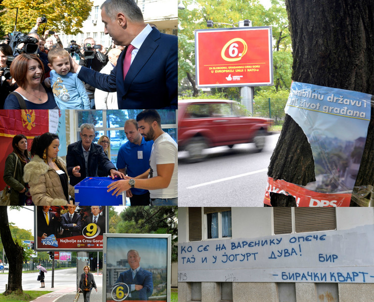 Crna Gora, Izbori, Kombo