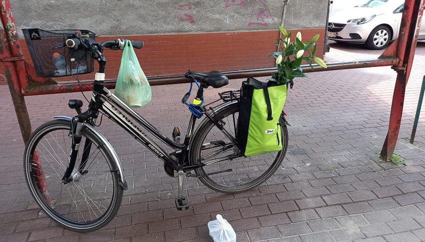 Poszukiwany rower.