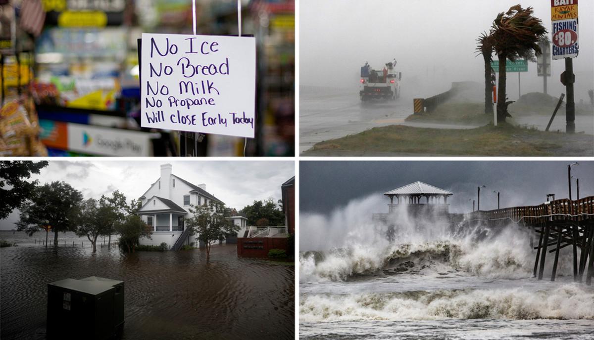 Monstruozni uragan precnika 400 kilometara STIGAO DO AMERIKE; Prve zrtve MAJKA I BEBA (FOTO, VIDEO)