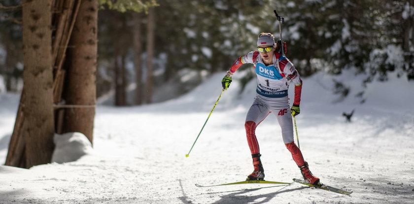 MŚ w biathlonie. Świetny start Polki. Do brązu zabrakło trzech sekund