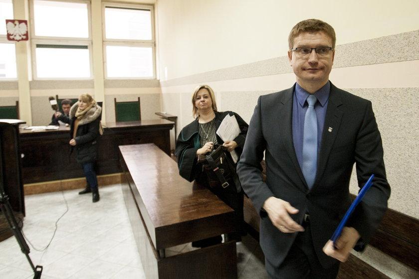 Krzysztof Matyjaszczyk w sądzie