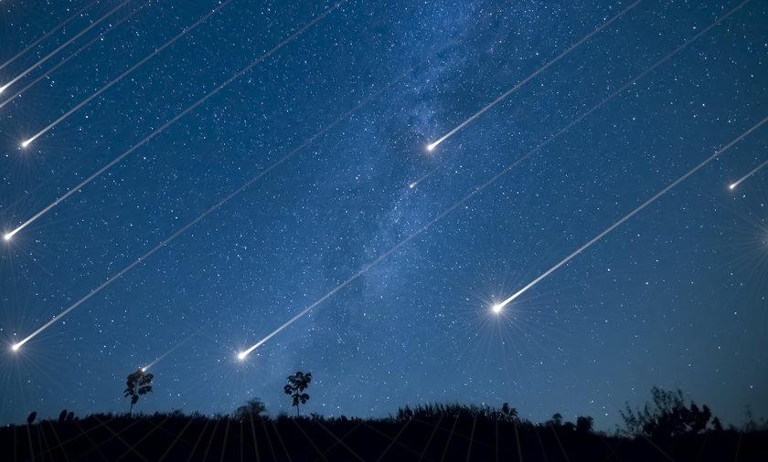Perseidy będzie można obserwować w nocy z 12 na 13 sierpnia.