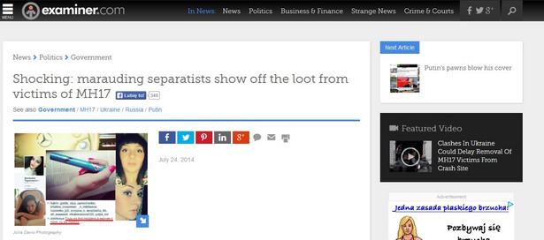 Screen z portalu examiner.com