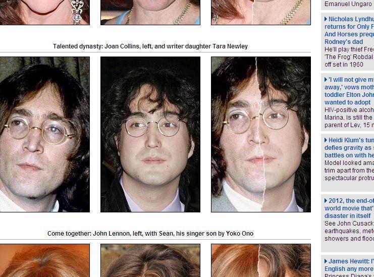 John Lennon i Sean Lennon