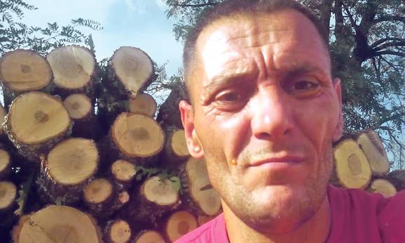 Teško povređen:Bojan Papak