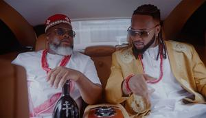 Larry Gaaga features Flavour Pete Edochie, Theresa Onuorah and Phyno on new video for, 'Egedege.' (TBD)