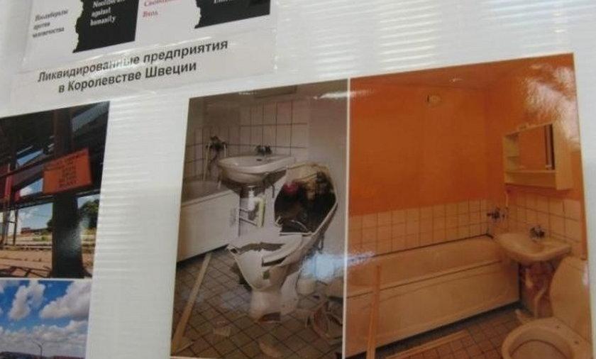 Zdjęcia Leppera na Białorusi