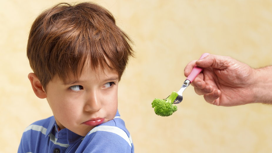 Co robić, kiedy dziecko nie chce jeść warzyw?