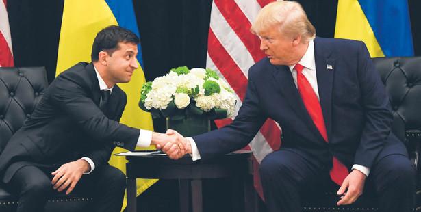 Prezydent Donald Trump miał naciskać na prezydenta Wołodymyra Zełenskiego, by dostarczył mu materiały obciążające byłego wiceprezydenta Joego Bidena