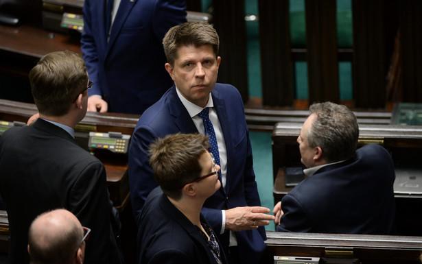Lider Nowoczesnej Ryszard Petru podczas posiedzenia Sejmu.