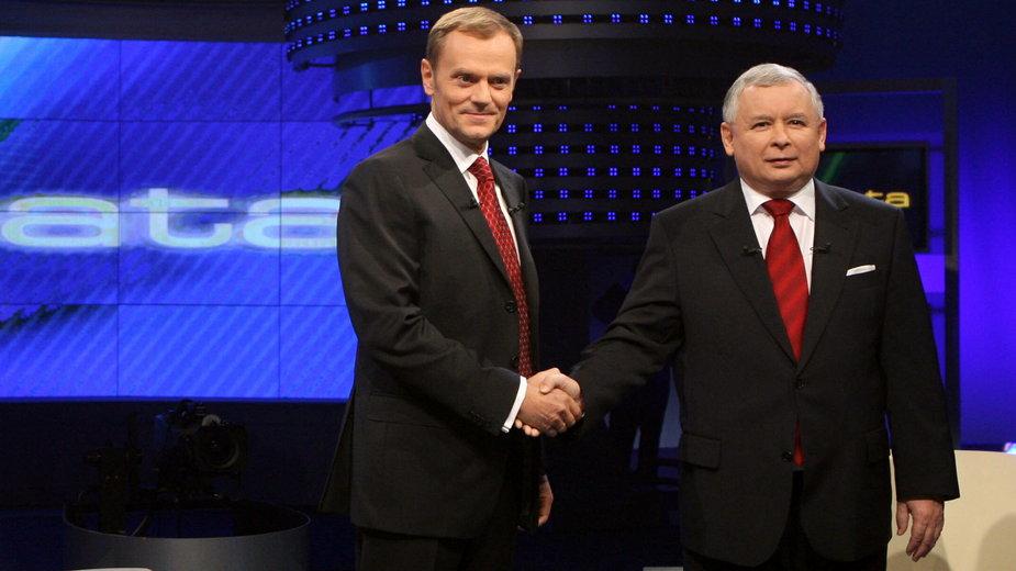 Debata Kaczyński-Tusk październik 2007 r.