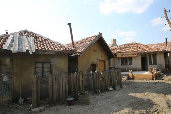 Siromašni deo Beograda izgrađen u Barandi