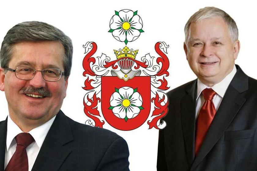 Kaczyński i Komorowski to rodzina?