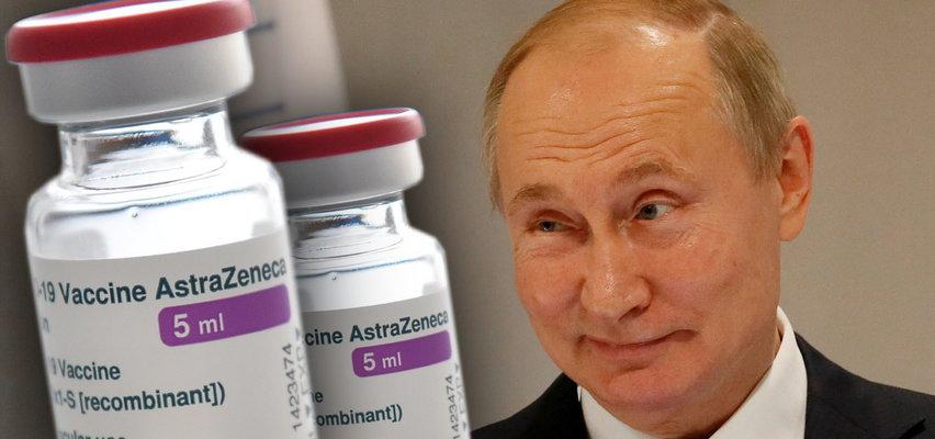 Brytyjskie służby specjalne alarmują: szpieg Putina skradł formułę AstraZeneki!