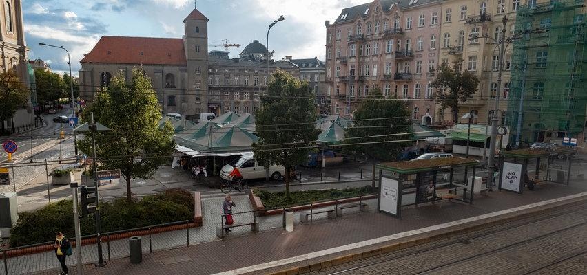 Plac Bernardyński wypięknieje