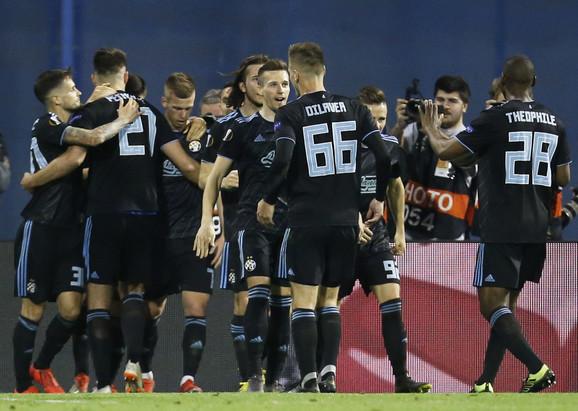 Fudbaleri Dinama iz Zagreba