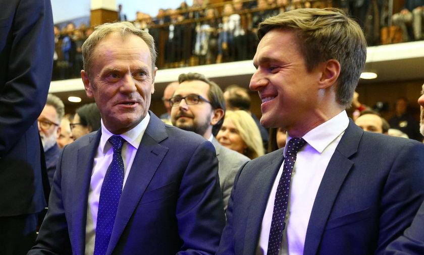 Donald Tusk i Leszek Jażdżewski