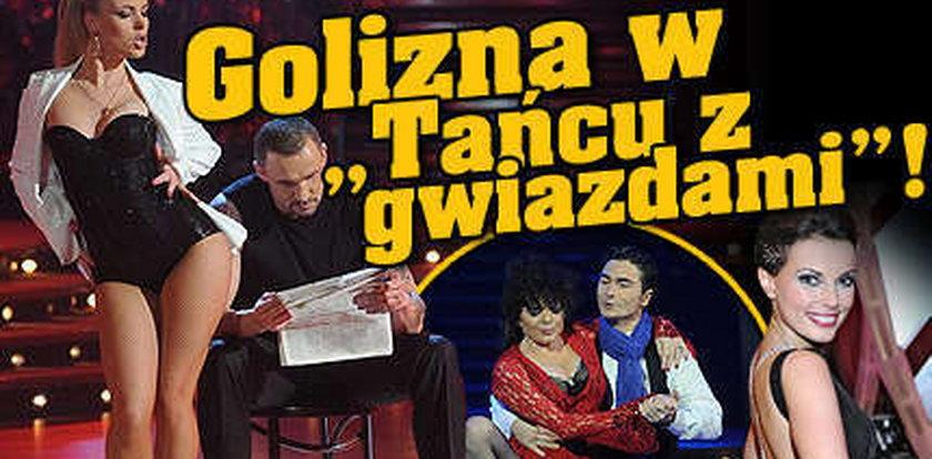 """Golizna w """"Tańcu z gwiazdami""""!"""
