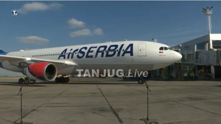 Kina, Pomoć, Er Srbija, Aerodrom