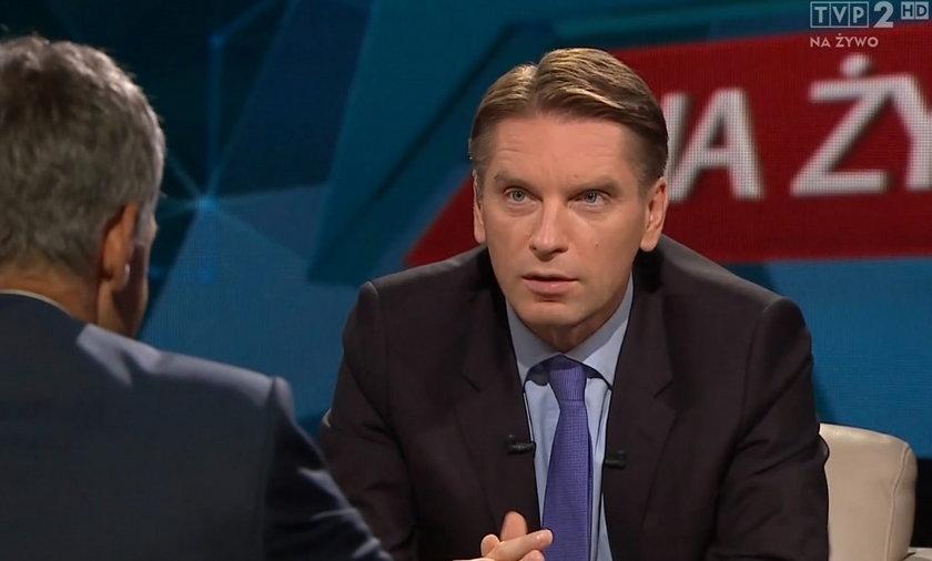 Tomasz Lis, dziennikarz telewizyjny i naczelny Newsweeka
