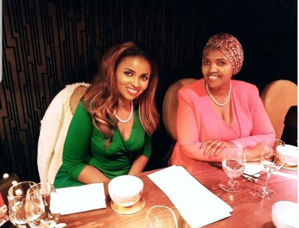 Anerlisa Muigai with her mother Tabitha Karanja